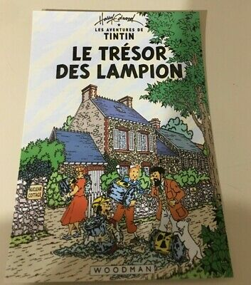 Carte Postale Tintin   Hommage A Herge Pastiche
