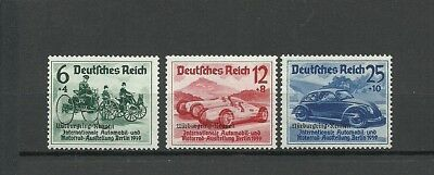 Germany Third Reich 1939 Automobile Car Expo Berlin Overprint ! Rrr !