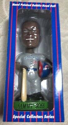 Chicago Cubs Sammy Sosa Pepsi Bobblehead Hand Painted Bobble Dobbles Collectors