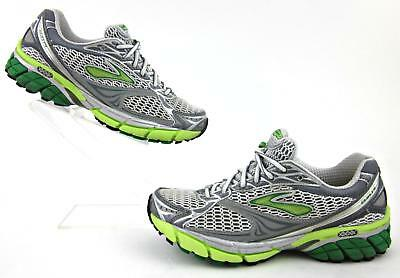 b26dbbc7911 BROOKS GHOST 4 Womens Running Shoes White Gray Neon US 7B -  56.50 ...