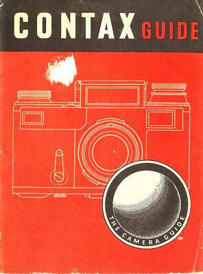 1947 CONTAX 35mm RANGEFINDER CAMERA GUIDE MANUAL by FOCAL