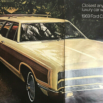 1972 Ford Pinto Squire Station Wagon Brown Woodgrain Car Photo