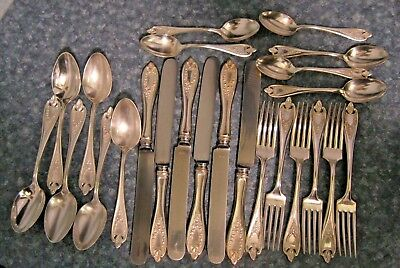 6 OLD COLONY 1847 Rogers Bros Silver Plate Place (Soup