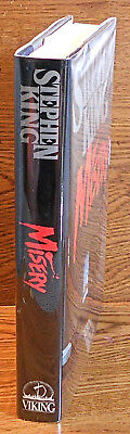 Stephen King.  MISERY.  Viking, 1987. 1st HC/DJ.  F/F.  Scarce In Nice Condition