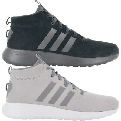 9112164b2 Adidas Cloudfoam Lite Racer mid Cf Shoes Men s Leather Sneakers Leisure New