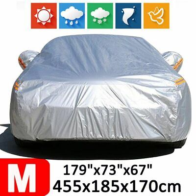Full Car SUV Cover 190T Waterproof Scratch Sun Dust Rain Resistant Protection M