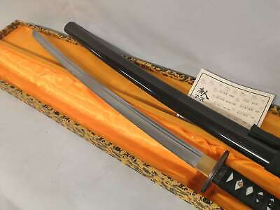 Handmade 41' Sharp High Carbon Steel  Japanese Samurai Katana Sword White