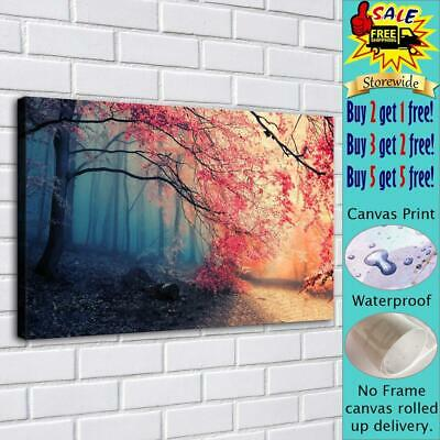 """Autmn Photo HD Canvas Print Painting Home Decor room Wall Art Picture 16""""x24"""""""