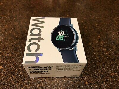 Sealed Samsung Galaxy Watch Active Sm-R500 40mm Turquoise