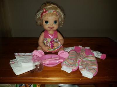 "Baby Alive Collector Doll ""Learns Potty Training""Hasbro 2007 W/Accessories Works"
