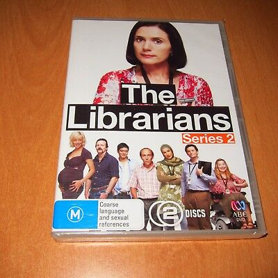 The Librarians - Series 2 ( Dvd , 2 Disc Set Region 4 ) ~ Brand New & Sealed