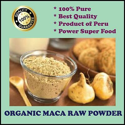 Maca Premium Organic Certified 1Kg Superfood Powder Made In Peru