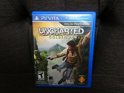 Uncharted: Golden Abyss (Sony PlayStation PS Vita, 2012)