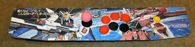 Control Panel for Blast City Arcade Game Cabinet Japan 1PLY 6 Buttons