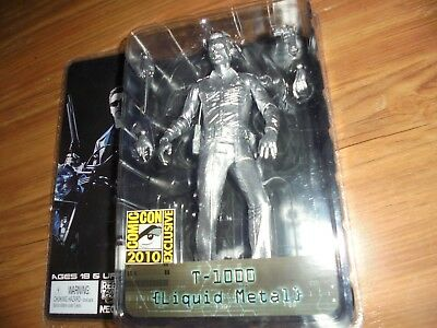 "Terminator 2 Judgment Day ""T-1000 Liquid Metal"" Action Figure NECA 2008"
