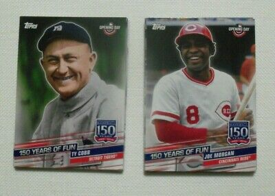 2019 Topps Opening Day 150 Years of Fun 25 Card Complete Set
