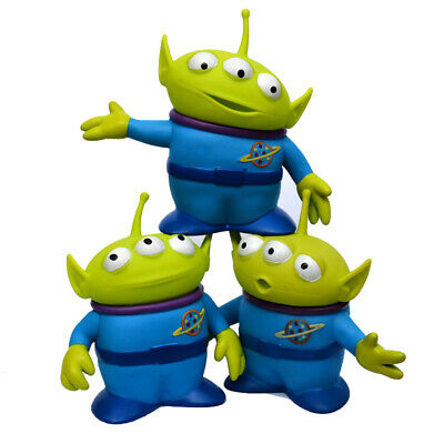 3pcs/set 6inch Disney Toy Story Alien Plastic Figures Collectible Toys Kids Gift