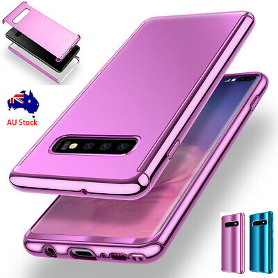 Samsung Galaxy S10/S10e/S9/S8 Plus 360 Plating Full Body Case Slim Mirror Cover