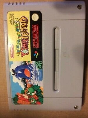 Super Mario World 2 Yoshi's Island sur Super Nintendo