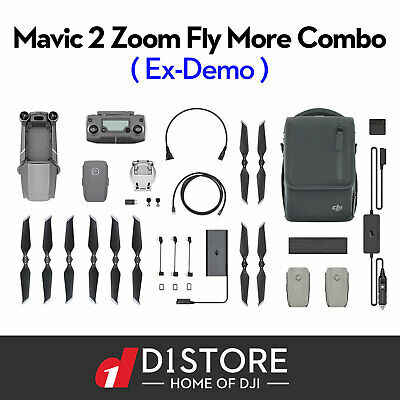 OFFICIAL DJI Mavic 2 Zoom Drone & Fly More Combo Kit Open Box With Tax Invoice