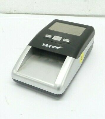 Volumatic TruScan Intelligent Cash Handling Compact Forgery Counterfeit Detector