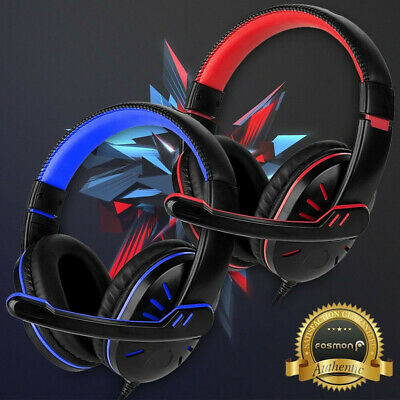 For PS4 Xbox One Nintendo Switch PC Stereo 3.5mm Wired Gaming Headphone Headset