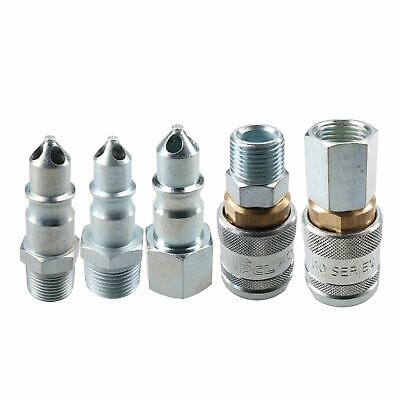"PCL 100 Series Female Couplers 1/2"" BSP & Male Adaptors 3/8"" BSP Air Fittings"