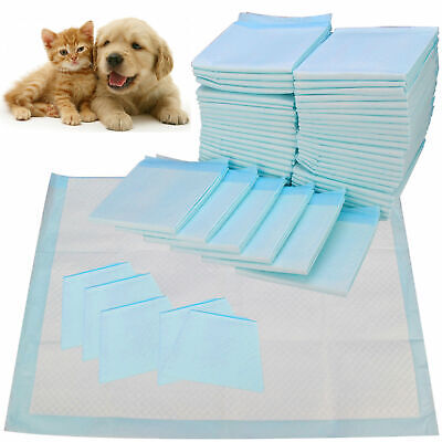 Large 60x60 Pet Dog Puppy Training Pads Toilet Pee Wee Absorbent Mats 30 50 100