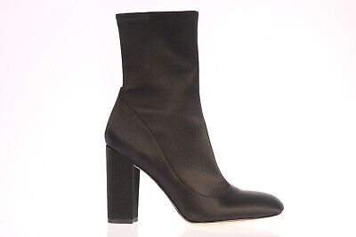 d396a0b0c WOMEN S SAM EDELMAN Calexa Black Sock Block Heeled Bootie Boot