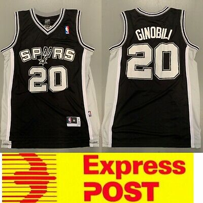 San Antonio Spurs #20 Manu Ginobili Jersey, Spurs Legend player