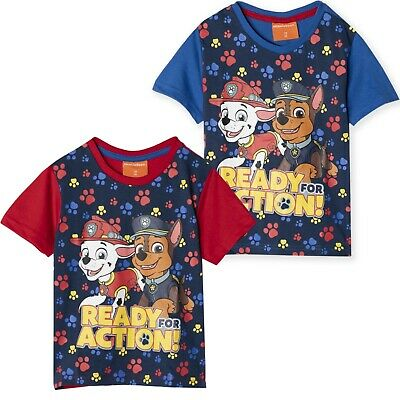 Paw Patrol Boys Summer Outfit Vest Top T Shirt and Shorts Clothes Set 2-6 Years