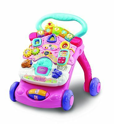 VTECH Pink First Steps Baby Walker 2018 New Version Fun Toddler Toy