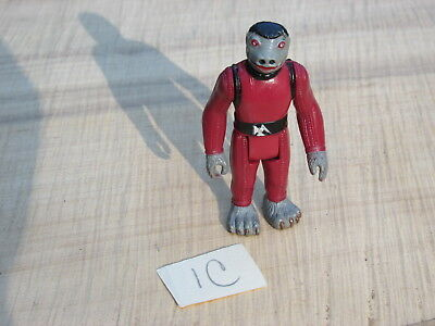1979 Vintage Star Wars Red Snaggletooth Action Figure Cantina Member