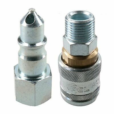 "PCL 100 Series Female Coupler 1/2"" BSP & 3/8"" BSP Male Female Thread Air Fitting"