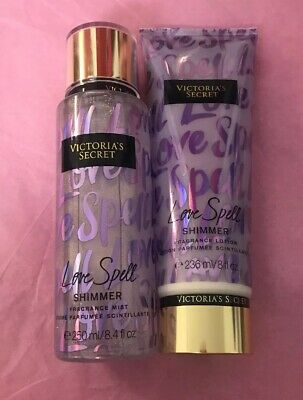 "VICTORIA'S SECRET Lotion & Fragrance Mist Duo ""Love Spell"""
