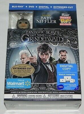 Fantastic Beasts: The Crimes of Grindelwald (Blu-ray + DVD + Digital) FUNKO POP