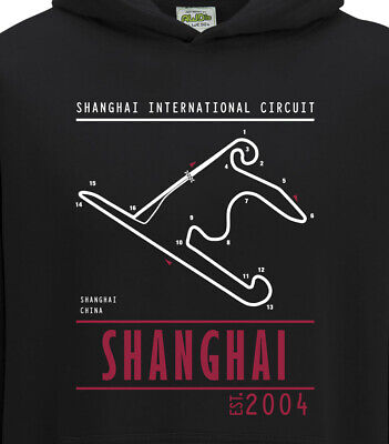 Shanghai Race Track China Grand Prix Motorsport Circuit Hoodie