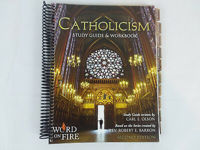 Catholicism Word on Fire Study Guide & Work Book Second Edition Olson