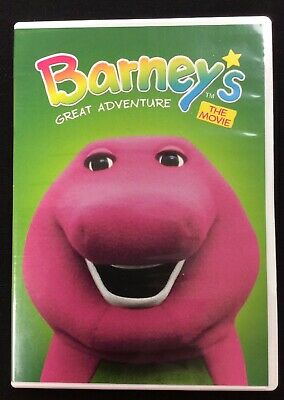 Barney's Great Adventure: The Movie DVD