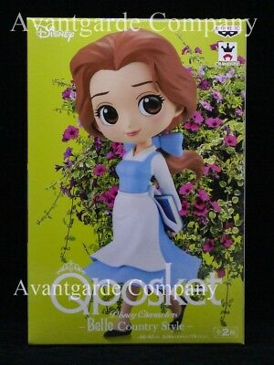 Banpresto Q Posket Belle Country Style Color B Beauty And The Beast 100% Real