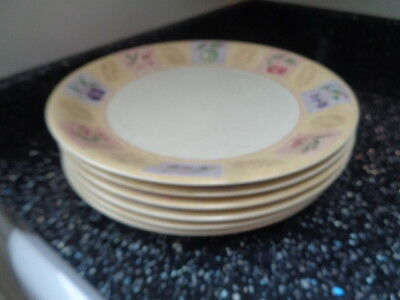 Marks And Spencer Wild Fruits Dinner Plates X 6 - Unused