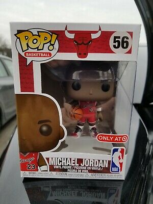 NEW Funko POP! TARGET Exclusive NBA #56 MICHAEL JORDAN MJ Chicago Bulls PREORDER