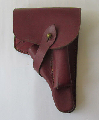 WWII WW2 Vintage Military German OFFICERS WALTHER PPK LEATHER HOLSTER
