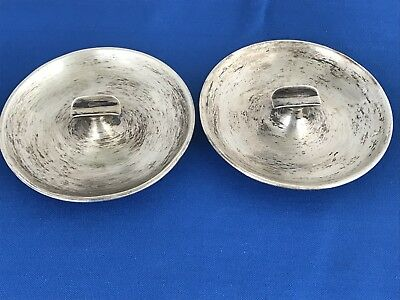 2-Sterling Silver Ashtray by S.Kirk & Son #30