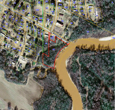 2.5Acre+/- Riverfront W/utilities! Pickens, Mississippi! Rv Park, Fishing Camp
