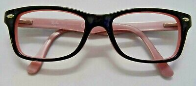 571287d22725 RAY-BAN RB1531 3580 Youth s Black   Pink Eyeglass Frames Used ...