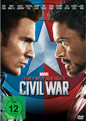 The First Avenger: Civil War [DVD] [2016] NEU