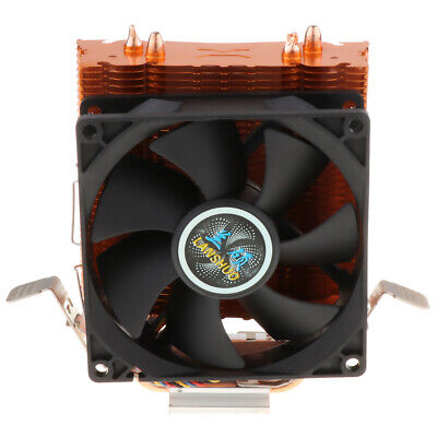 4 Wire CPU Cooling Fan Fin Heat Sinks System 12V 3Pin for Desktop Computer