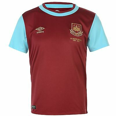 Umbro West Ham United Junior Kids Home Shirt 2015/16, 7/8, 9/10, 11/12, 13/14yrs