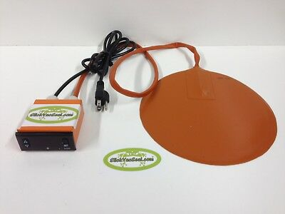 "Digital Controlled Heating Pad: 7.75"" Diameter"